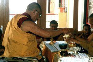 Rituali del Dalai Lama